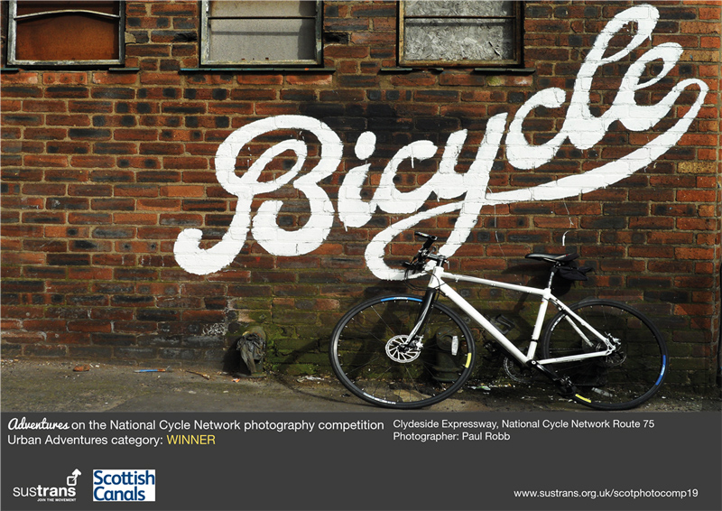 Photography exhibition celebrating the National Cycle Network across Scotland opens as part of the Edinburgh Festival Fringe